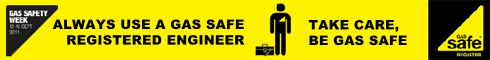Gas Safe, always use a gas safe registered engineer.